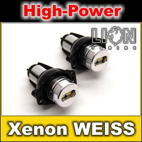 Angel-Eyes-LED-Marker-Brenner-Standlicht-BMW-E90-E91-weiss-6-Watt